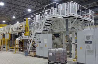 New equipment and machinery setup