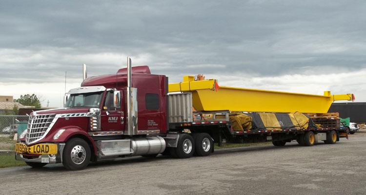 Ontario heavy haul transportation, Hamilton, KItchner, Sarnia, Ottawa
