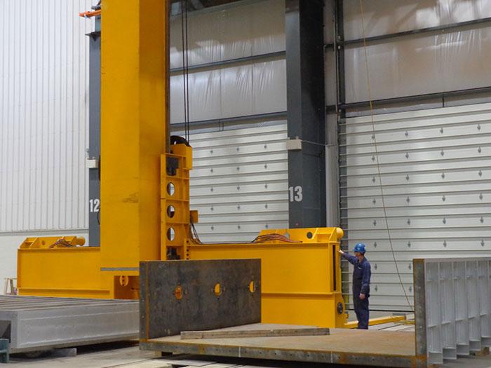 Heavy Crane Installation