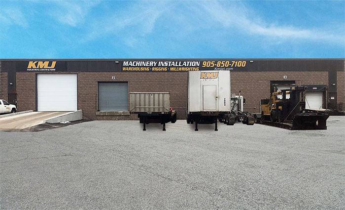 KMJ Machinery Storage, Toronto, GTA